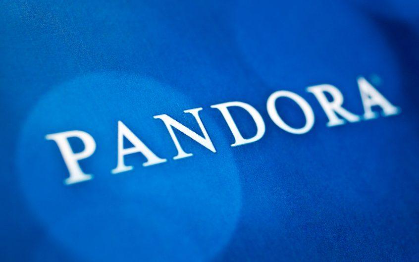 Pandora Logo SaaS UX