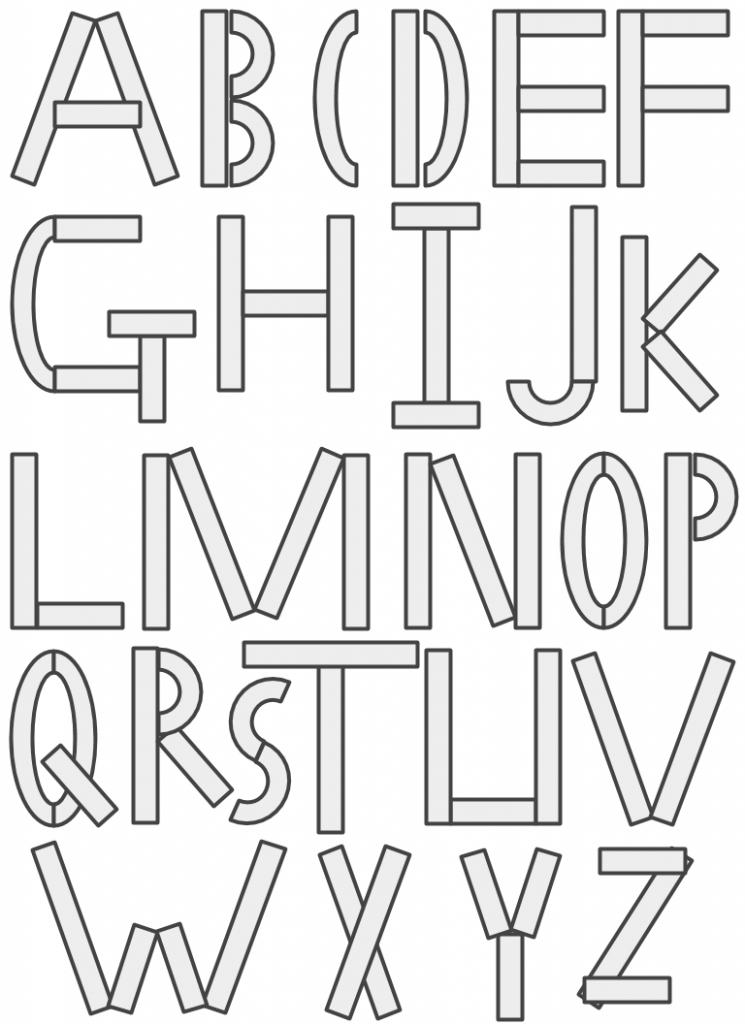 ABCs with Mat Man, Full Alphabet Depicted.